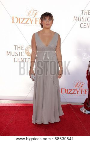 Jenna Ushkowitz at the 3rd Annual Celebration of Dance Gala presented by the Dizzy Feet Foundation, Dorothy Chandler Pavilion, Los Angeles, CA 07-27-13