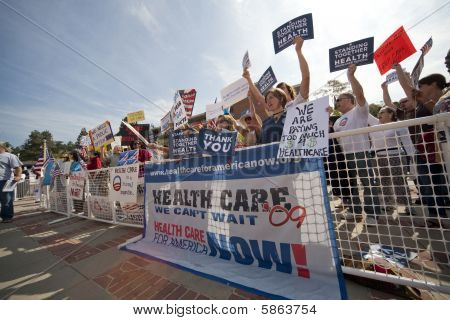 Health Reform Demonstration at UCLA