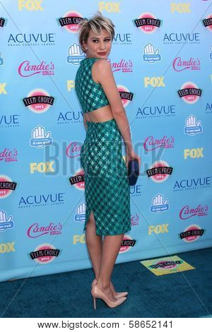 Chelsea Kane at the 2013 Teen Choice Awards Arrivals, Gibson Amphitheatre, Universal City, CA 08-11-13