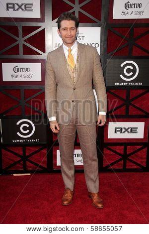 Matthew Morrison at the Comedy Central Roast Of James Franco, Culver Studios, Culver City, CA 08-25-13