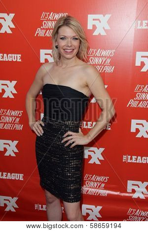 Mary Elizabeth Ellis at the FXX Network Launch Party and