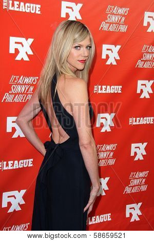 Kaitlin Olson at the FXX Network Launch Party and