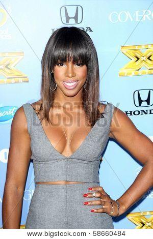 Kelly Rowland at the