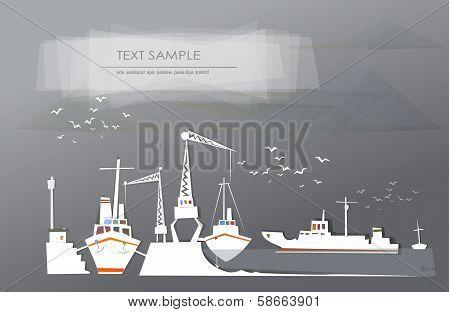 Big port illustration