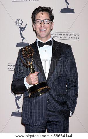 Dan Bucatinsky at the Primetime Creative Arts Emmy Awards 2013 Press Room, Nokia Theater, Los Angeles, CA 09-15-13
