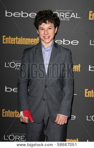 Nolan Gould at the 2013 Entertainment Weekly Pre-Emmy Party, Fig& Olive, Los Angeles, CA 09-20-13