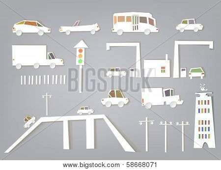 Busy roads, junctions and bridges