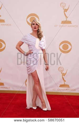 Lily Rabe at the 65th Annual Primetime Emmy Awards Arrivals, Nokia Theater, Los Angeles, CA 09-22-13