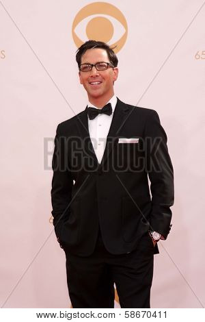 Dan Bucatinsky at the 65th Annual Primetime Emmy Awards Arrivals, Nokia Theater, Los Angeles, CA 09-22-13