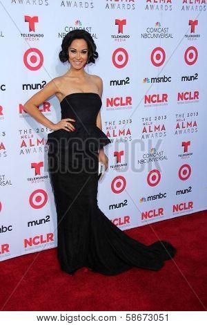 Jael De Pardo at the 2013 NCLR ALMA Awards Arrivals, Pasadena Civic Auditorium, Pasadena, CA 09-27-13