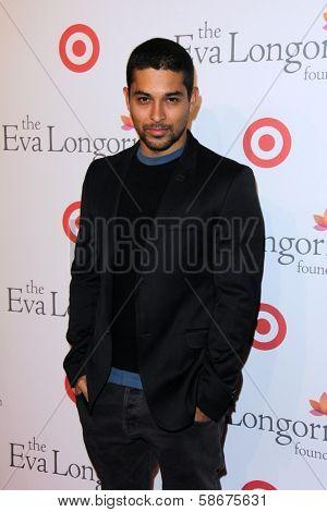 Wilmer Valderrama at the Eva Longoria Foundation Dinner, Beso, Hollywood, CA 09-29-13