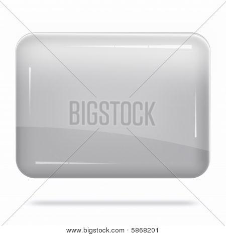 Blank Silver Board Float