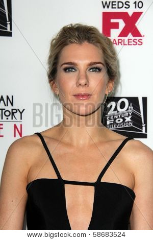 Lily Rabe at the