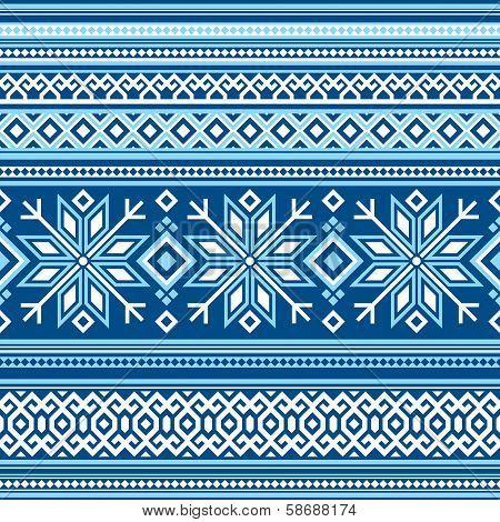 Scandinavian pattern seamless