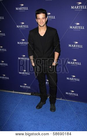 Mark Ballas at the Launch Celebration for Martell Caractere Cognac, Paramour Mansion, Los Angeles, CA 10-10-13