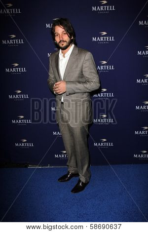 Diego Luna at the Launch Celebration for Martell Caractere Cognac, Paramour Mansion, Los Angeles, CA 10-10-13