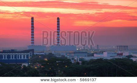 Industrial Chimeys & Buildings
