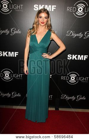Sarah Blaine Dignity Gala and Launch of Redlight Traffic App, Beverly Hilton Hotel, Beverly Hills, CA 10-18-13