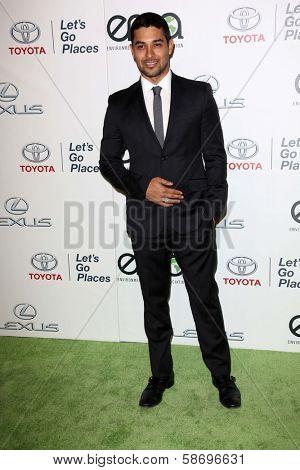 Wilmer Valderrama at the 23rd Annual Environmental Media Awards, Warner Brothers Studios, Burbank, CA 10-19-13