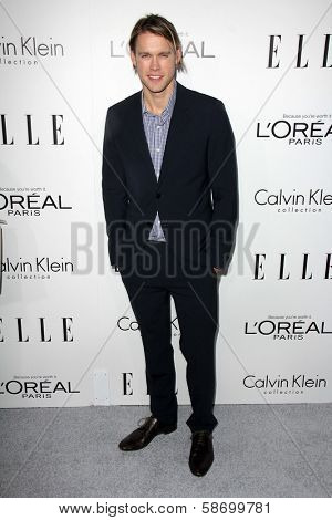 Chord Overstreet at the Elle 20th Annual