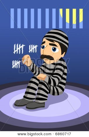How Many Days Have I Spent In Prison?