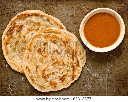 Rustic Indian Roti Prata