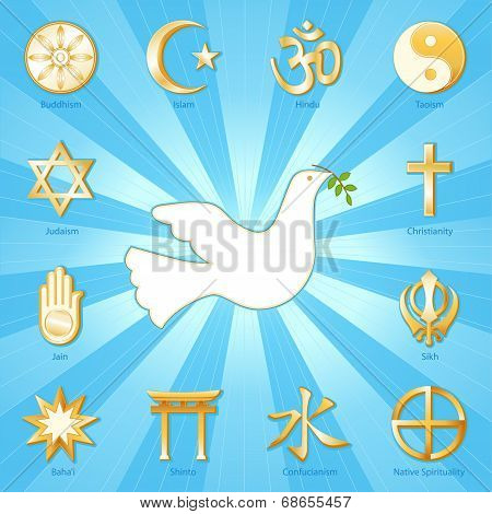 Dove Of Peace, Many Faiths