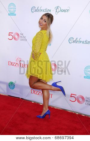 LOS ANGELES - JUL 19:  Emma Slater at the 4th Annual Celebration of Dance Gala at Dorothy Chandler Pavilion on July 19, 2014 in Los Angeles, CA