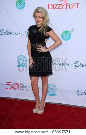 LOS ANGELES - JUL 19:  Witney Carson at the 4th Annual Celebration of Dance Gala at Dorothy Chandler Pavilion on July 19, 2014 in Los Angeles, CA