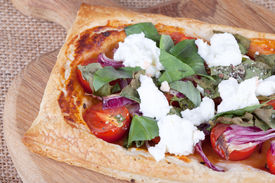 Puff Pastry With Rocket