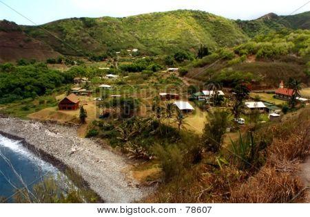 Sleepy Little Village On Maui