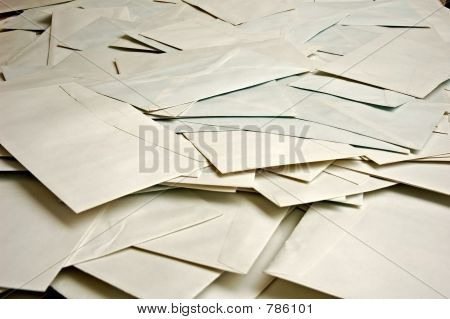 many envelopes