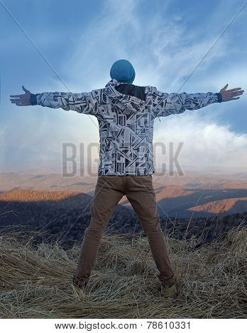 Freedom In Mountains