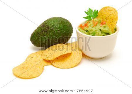Fresh Guacamole And Avocado