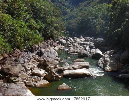 Andes Scenery Around Machu Picchu