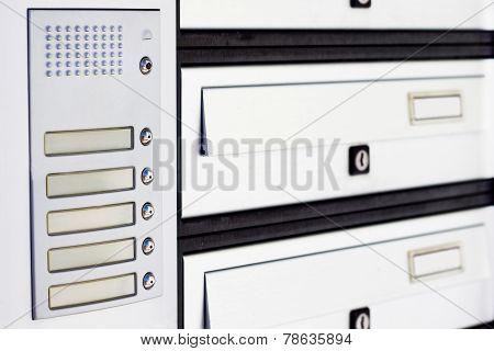Perspective Of Doorbell