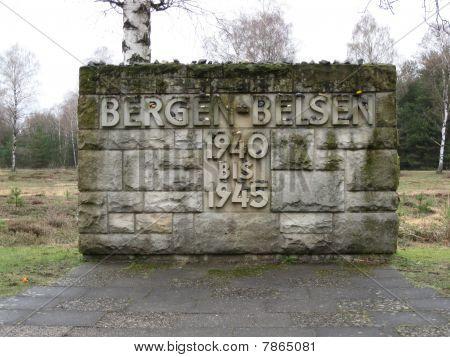 Monument at Bergen-Belsen