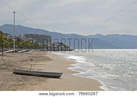 Pacific Ocean Coast In Mexico