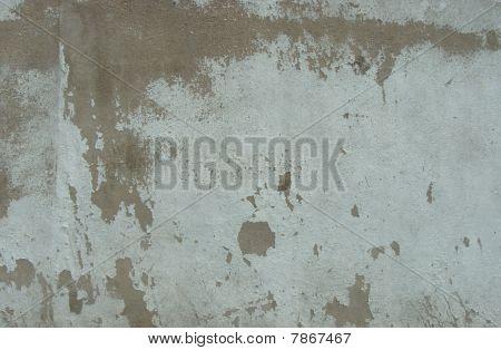 Dirty Worn Mint Green Wall