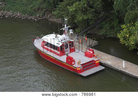 fireboat below