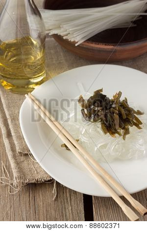 Glass Noodles With Laminaria