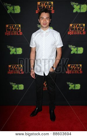 LOS ANGELES - FEB 18:  Taylor Gray at the Global Premiere of