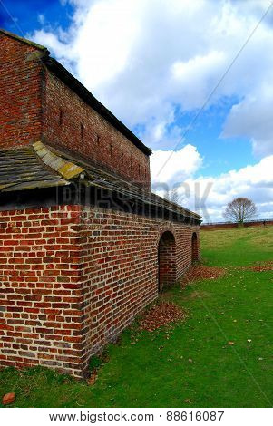 Side View of Deer House at Dunham Massey