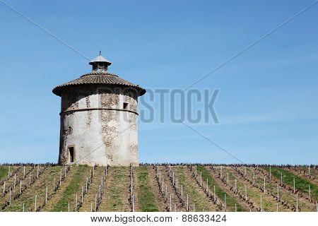 Dovecote in Quincié en Beaujolais, France