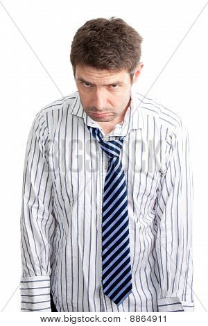 Grumpy Businessman