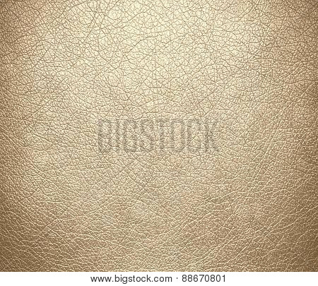 Bisque color leather texture background