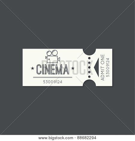 Entry ticket to old vintage style.
