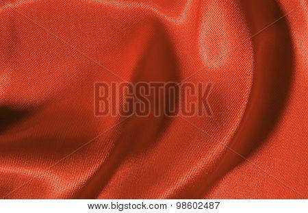 Sateen cloth