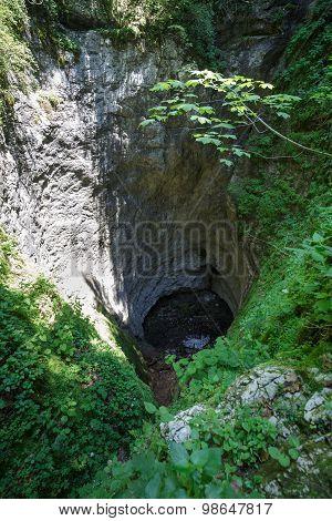 Sinkhole In Romania