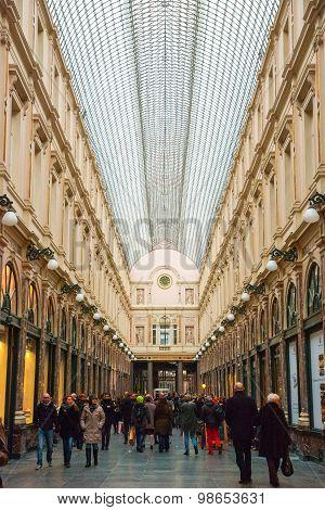 Galeries De Sait Hubert, Brussels, Belgium
